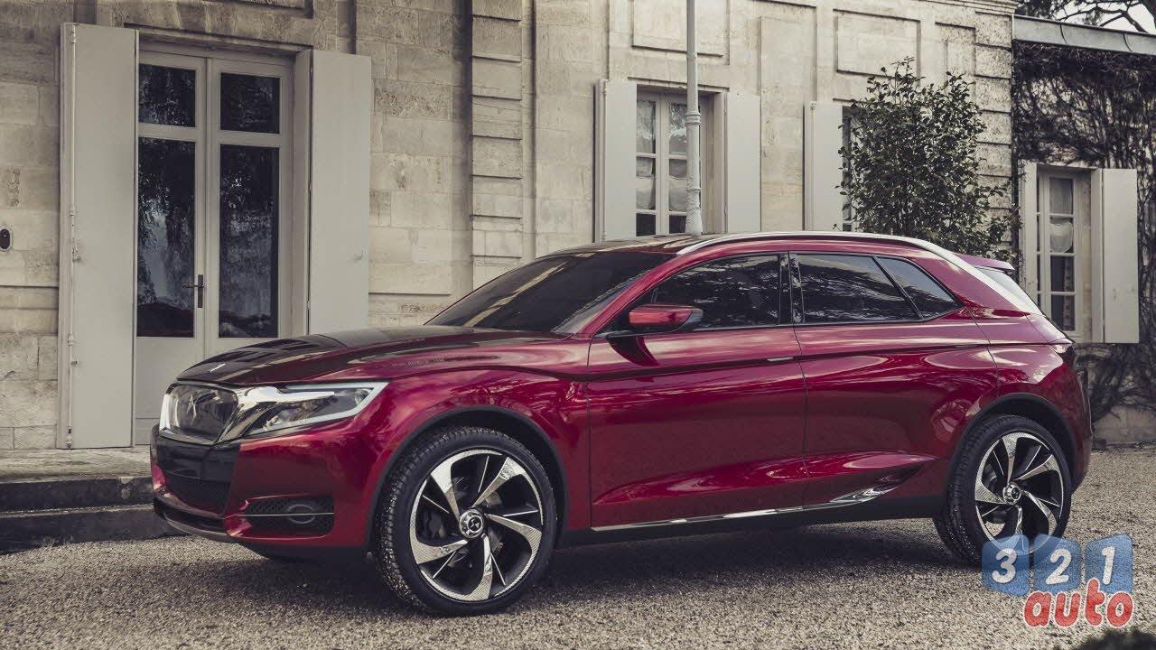 Citroën dévoilera le crossover DS au salon de Pékin