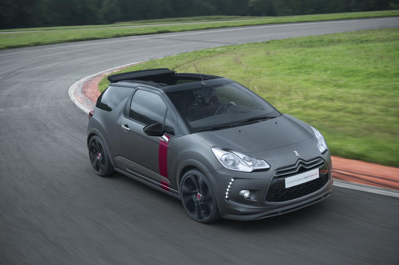 Citroën DS3 Cabrio Racing : 207 ch pour la plus puissante des DS3 Cabrio