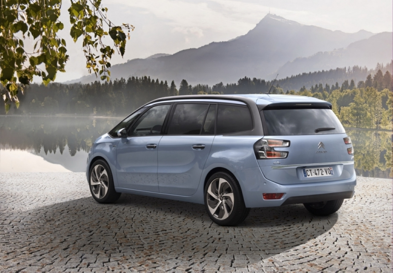 Citroën dévoile les prix du Grand C4 Picasso 2013
