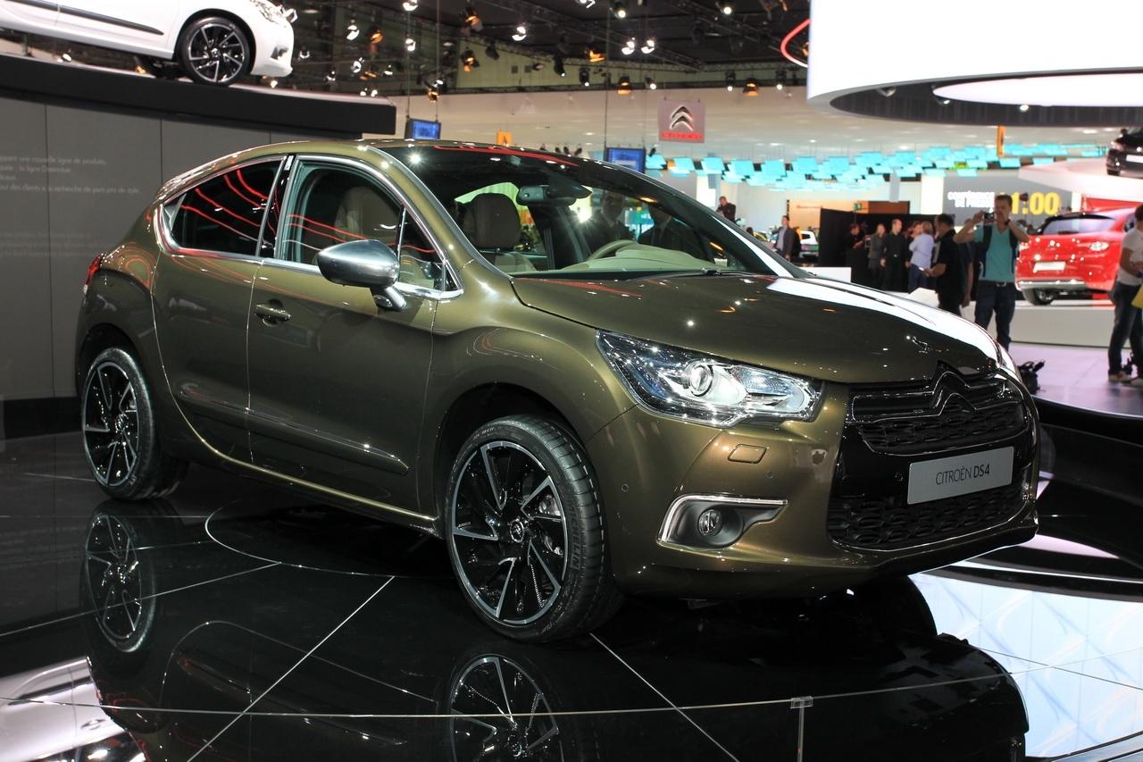 Citroën dévoile la DS4 !