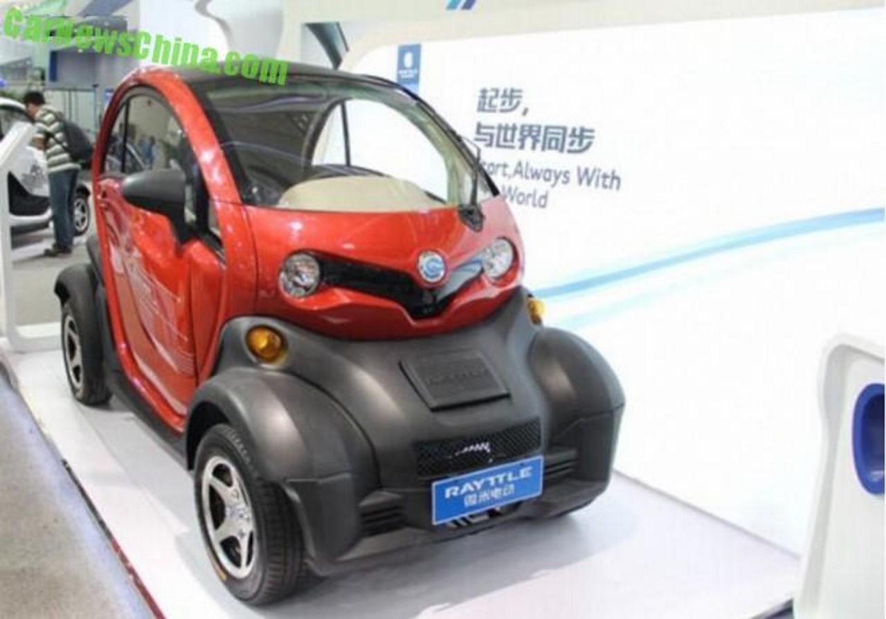 Même le Renault Twizy est copié en Chine !