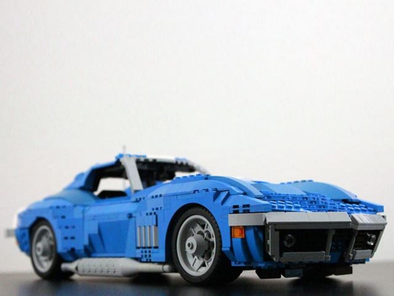 La Corvette de 1969 en Lego sera-t-elle commercialisée ?