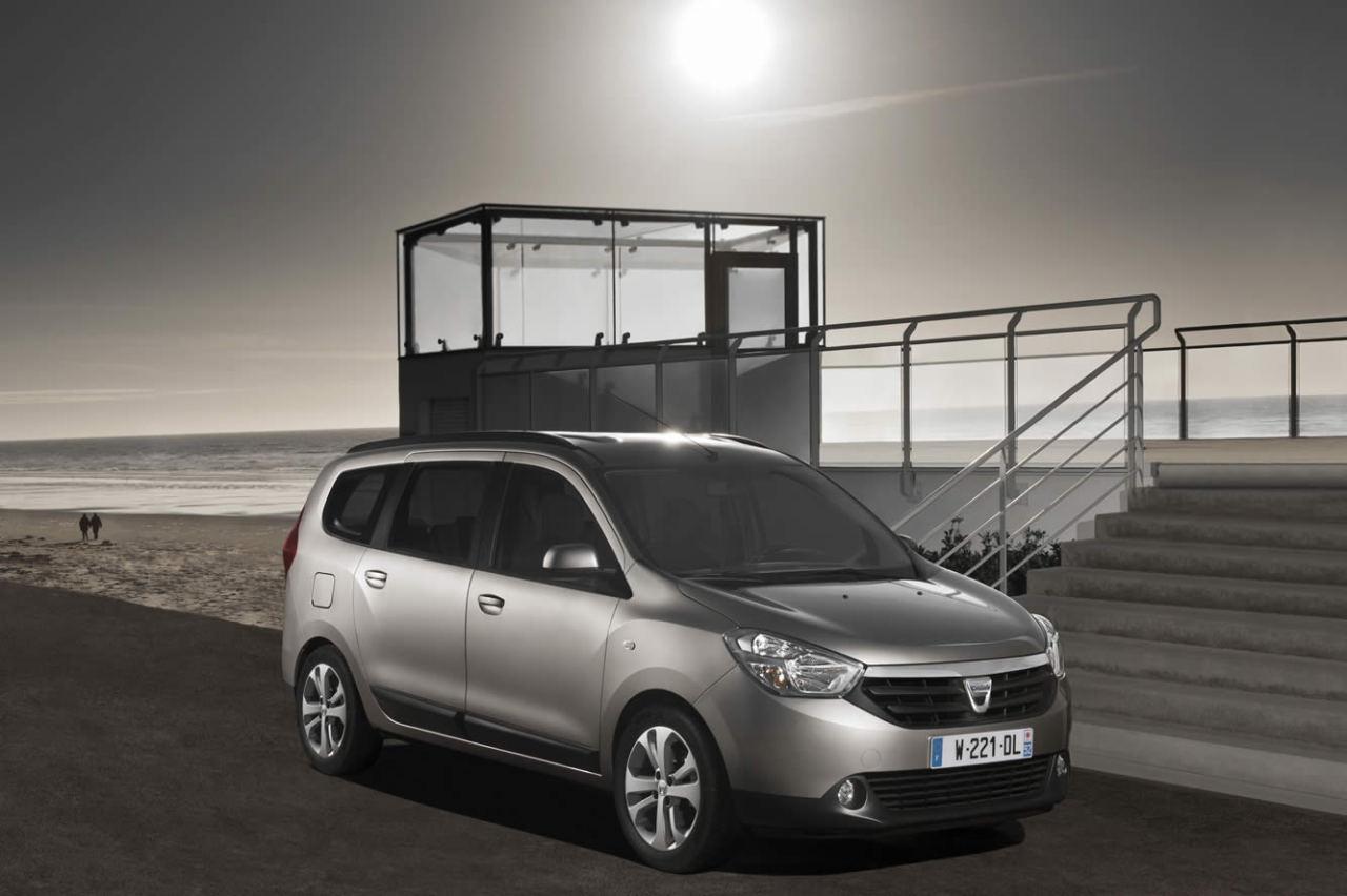 Le GPL sans surcoût sur les Dacia Lodgy et Docker