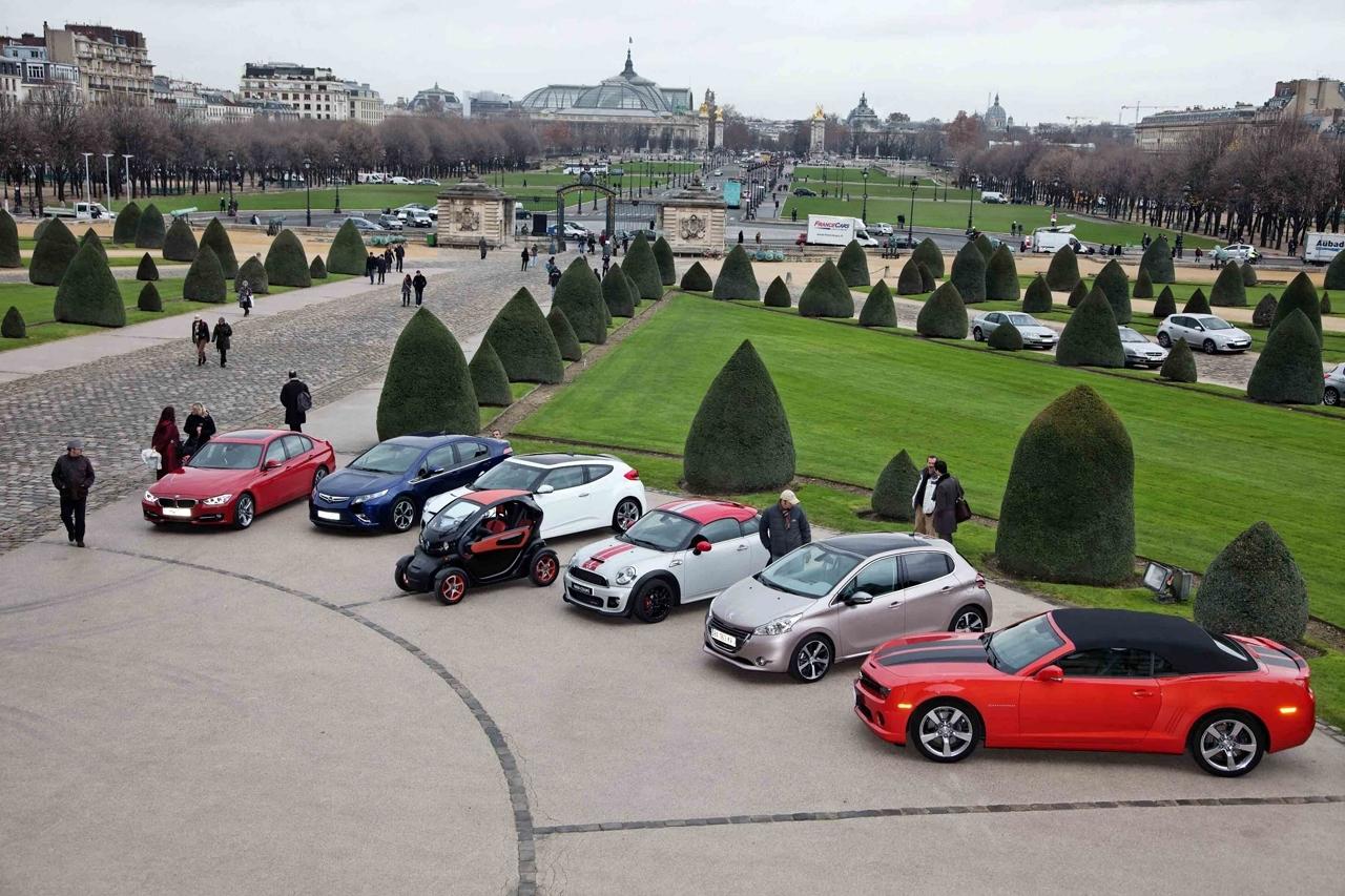 Elisez la plus belle voiture de l'année