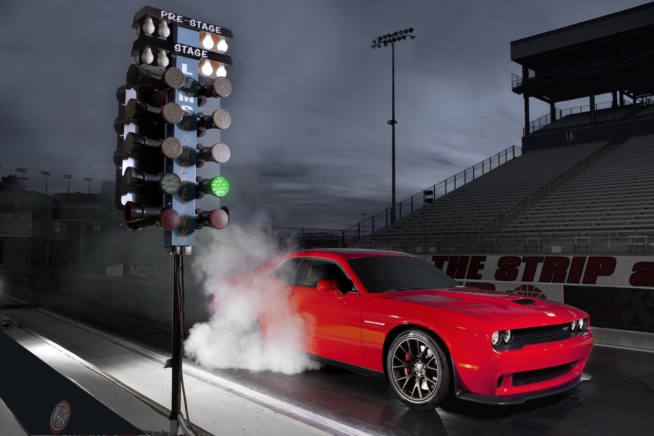 Dodge Challenger SRT Hellcat : ce sera 717 chevaux