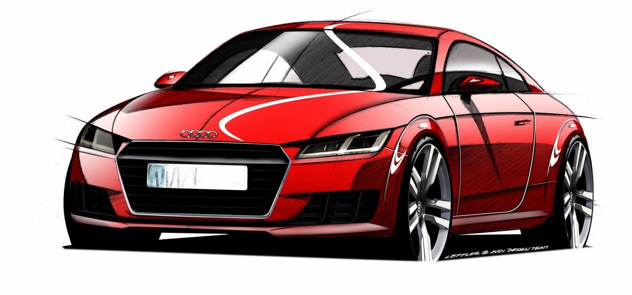 Le nouvel Audi TT s'annonce pour Genève