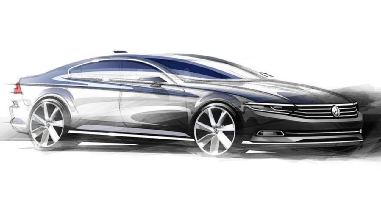Volkswagen dévoile les esquisses de sa nouvelle Passat