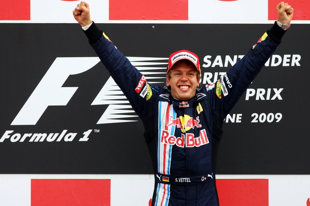 Vettel survole le GP de Silverstone