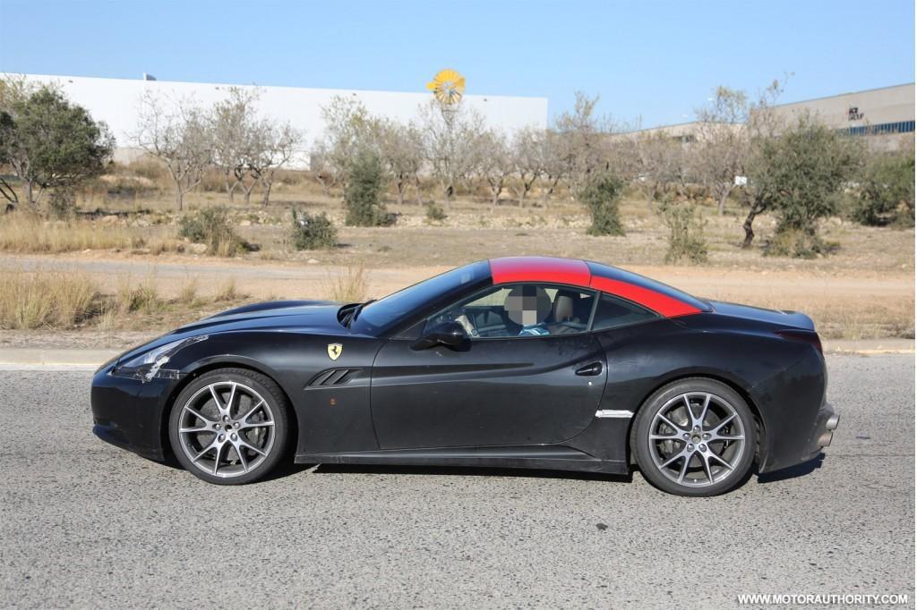 Du neuf pour la Ferrari California 2015