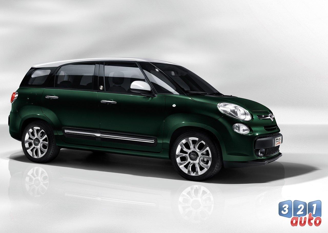 Fiat 500L Living : première vidéo officielle