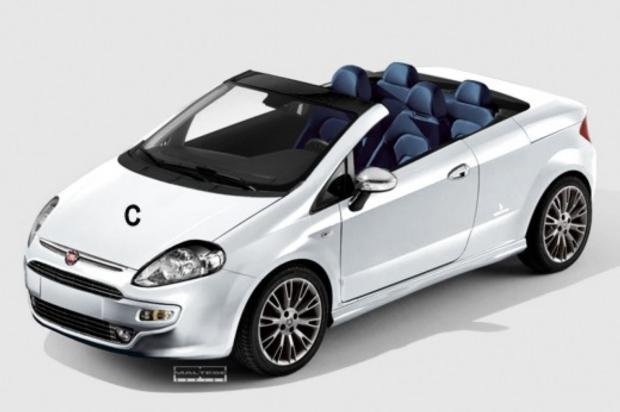 news auto fiat punto evo cabriolet c 39 est dans les cartons 321auto. Black Bedroom Furniture Sets. Home Design Ideas