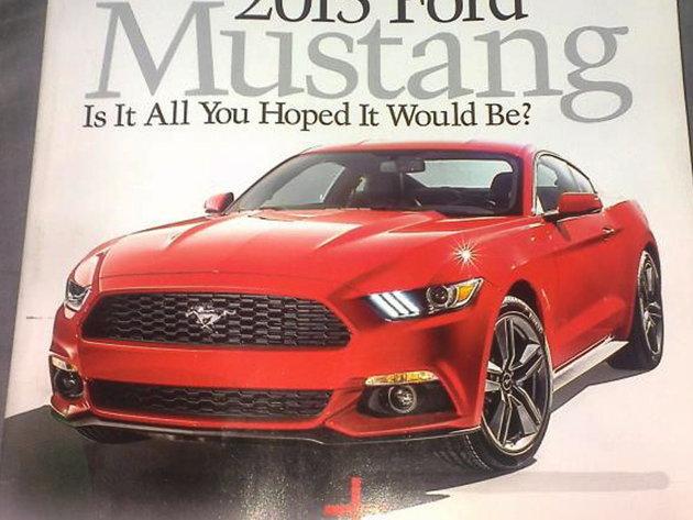 Les premières photos de la nouvelle Ford Mustang 2014