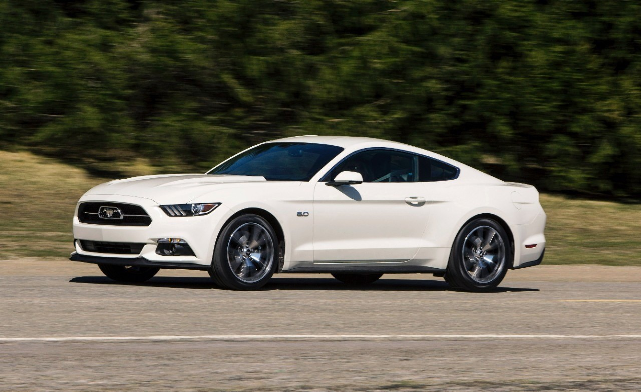 Ford dévoile la Mustang 50 Year Limited Edition à New York