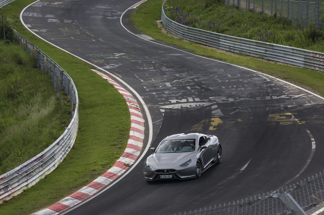 La voiture électrique qui défie le Nürburgring