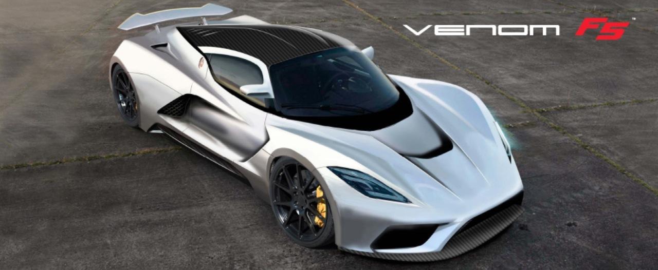 1400 chevaux et 467 km/h annoncés pour la Hennessey Venom F5