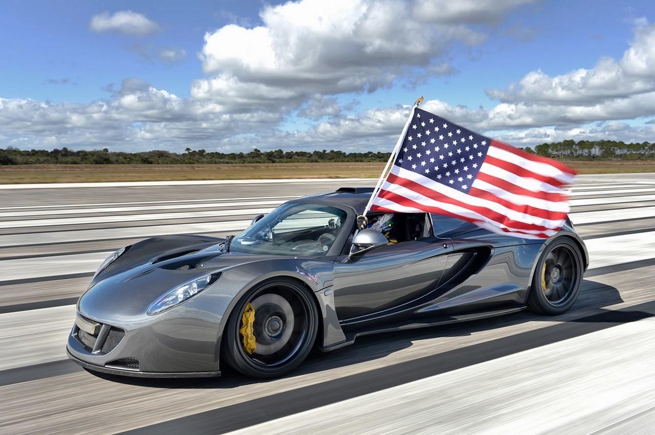 435 km/h : la Hennessey Venom GT se paye le record de vitesse de la Bugatti Veyron