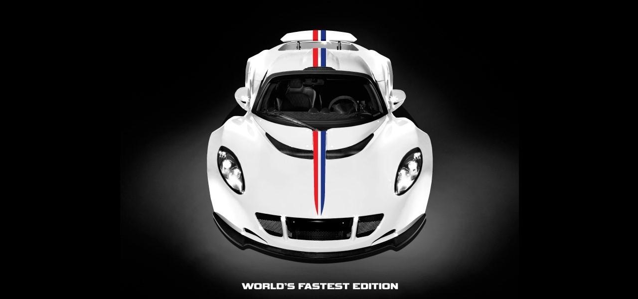 Hennessey célèbre les records de la Venom GT avec la série World's Fastest Edition