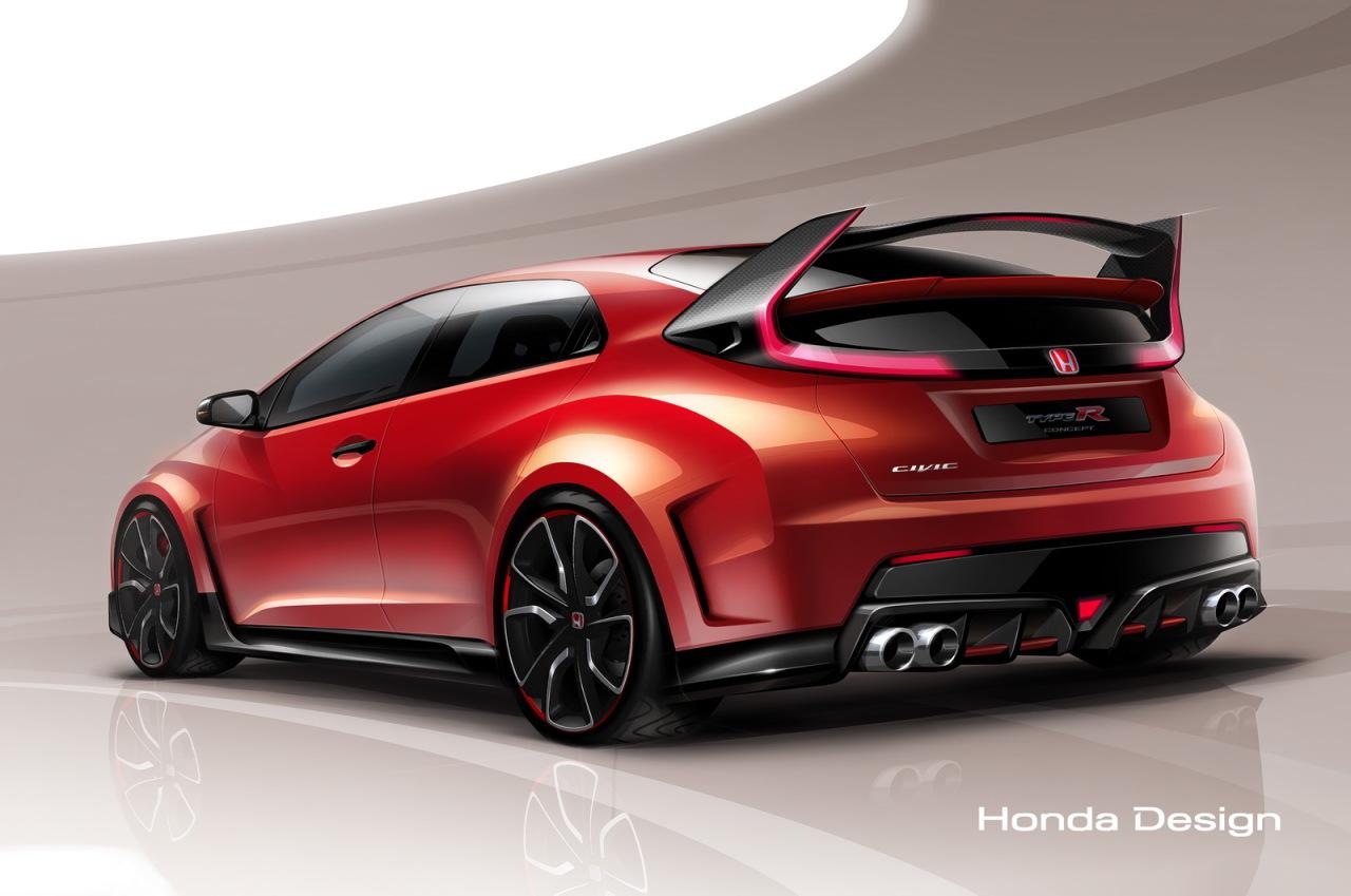Première image de la Honda Civic Type R Concept 2014