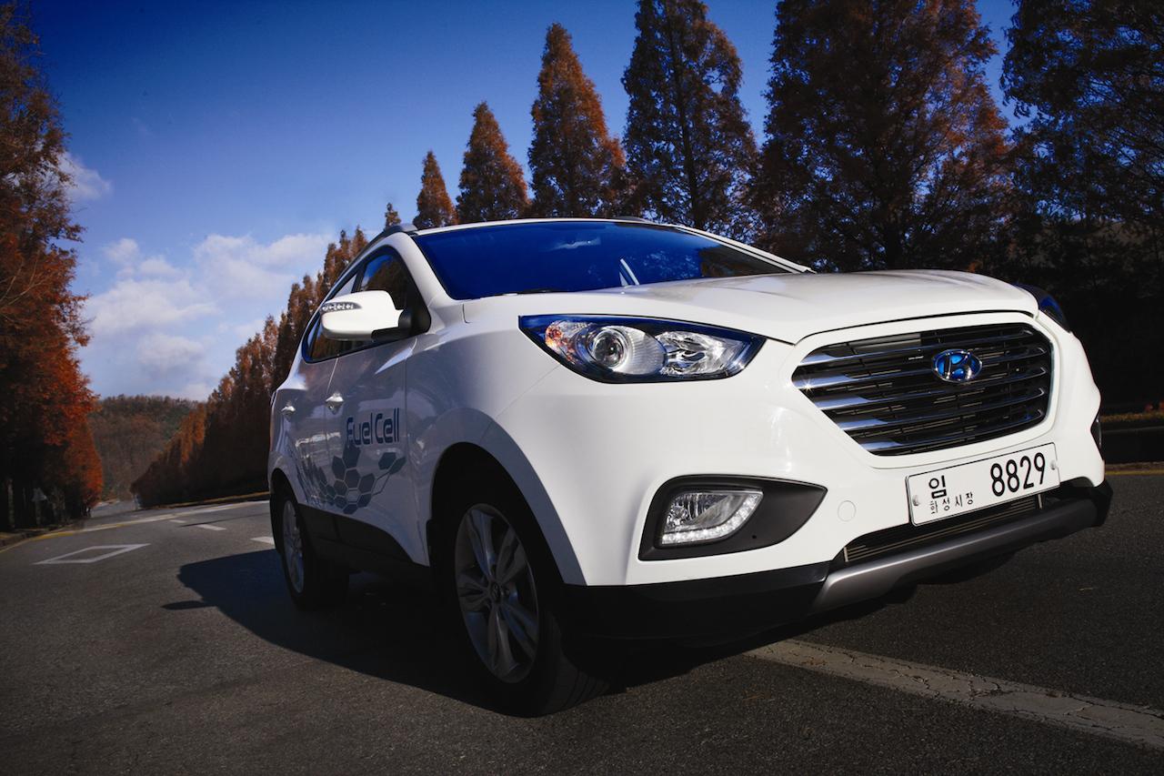 Livraison des premières Hyundai ix35 à hydrogène en France