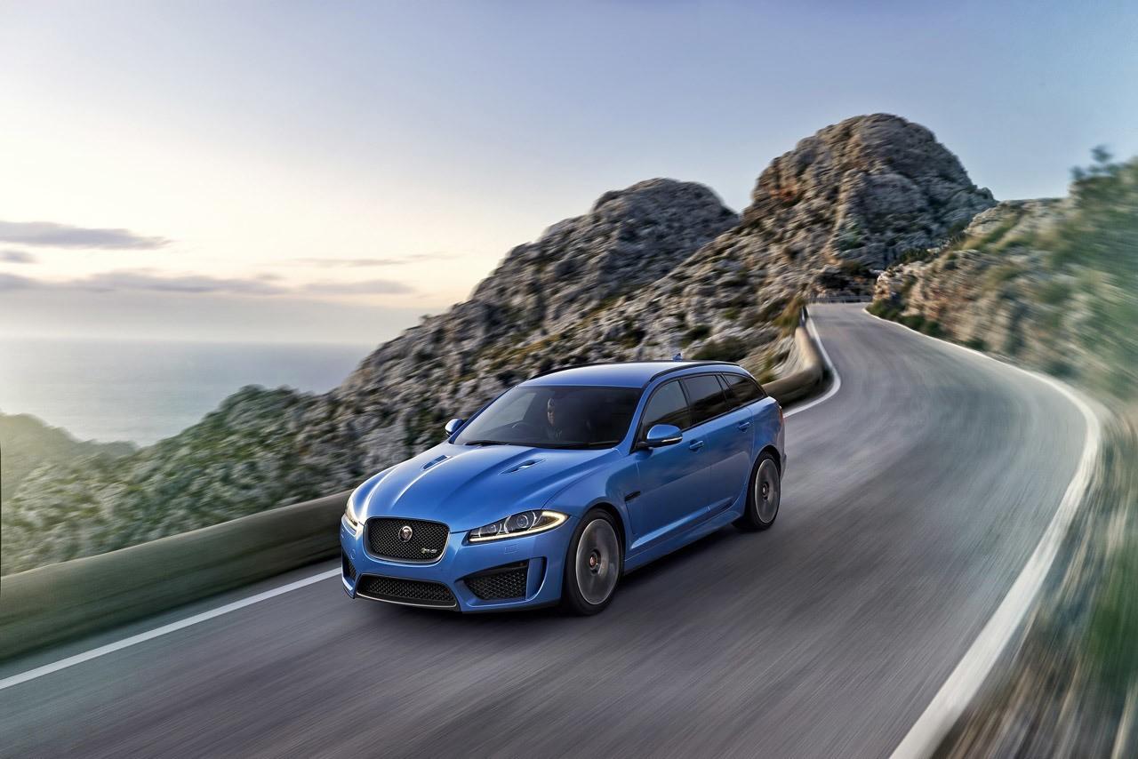 Jaguar XFR-S Sportbrake : la malle qui rugit (très) fort