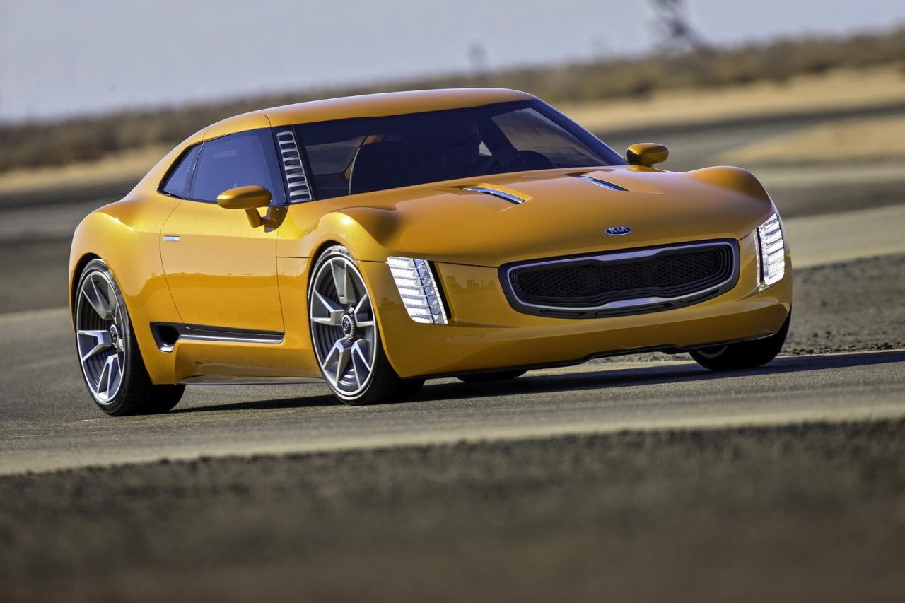Kia GT4 Stinger Concept : un coupé sportif de 315 ch