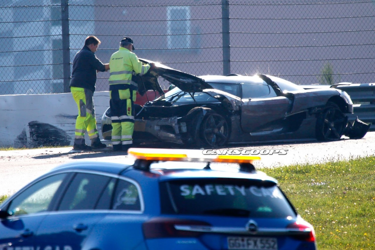 Crash : un prototype de Koenigsegg accidenté au Nürburgring