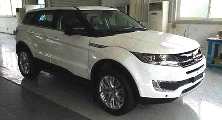 Voici la copie chinoise du Range Rover Evoque