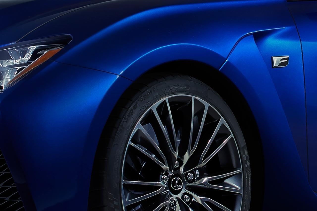 Une nouvelle Lexus F au Salon de Détroit 2014