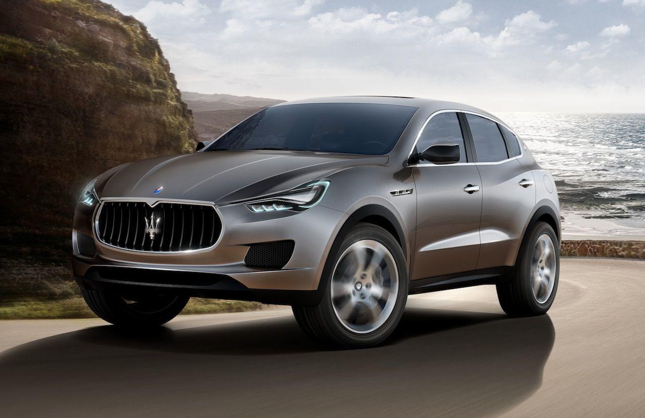 Maserati se développera avec le Levante en 2015 et l'Alfieri en 2016