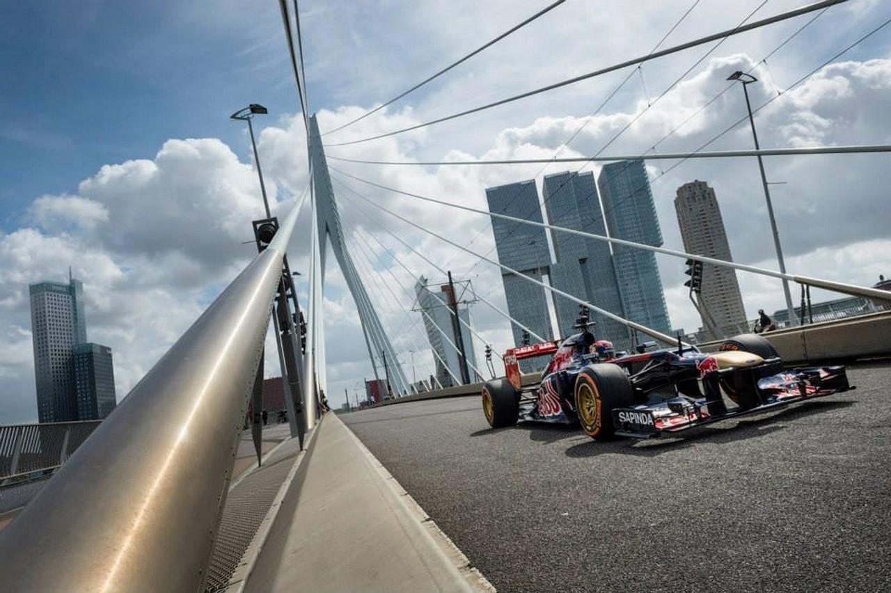 F1 : première sortie et premier crash pour Max Verstappen