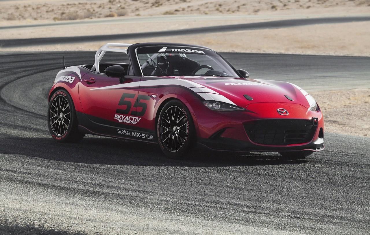 Global MX-5 Cup : une compétition pour la nouvelle Mazda MX-5