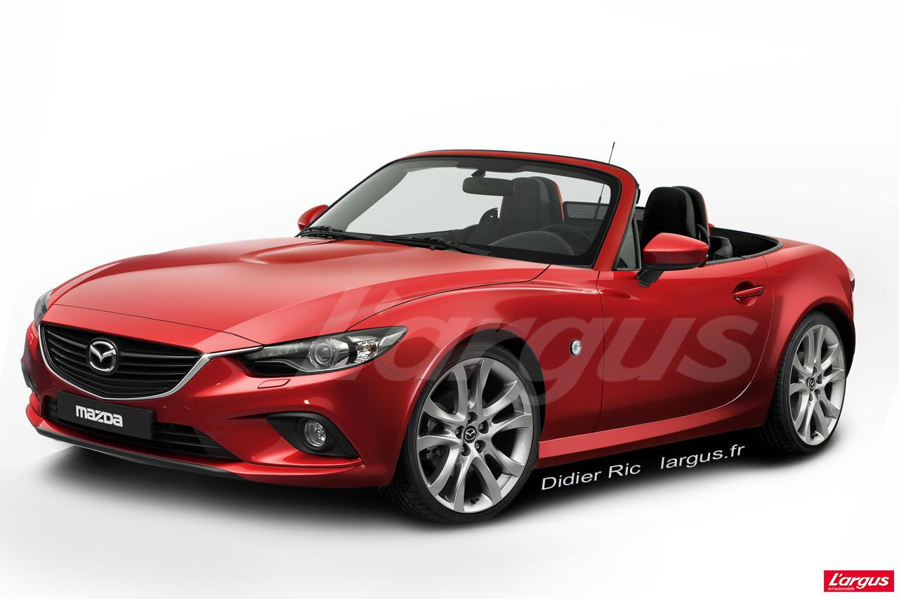 La Mazda MX-5 pourrait être partiellement révélée au salon de New-York