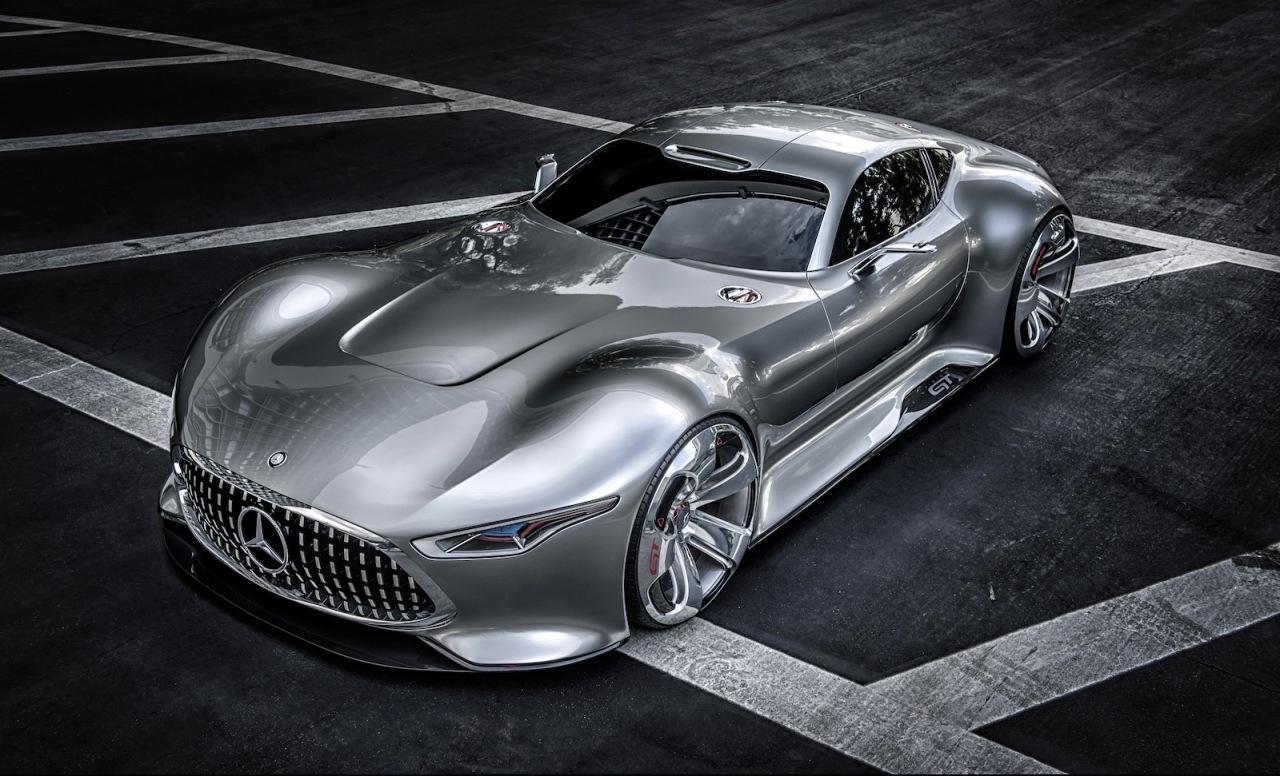 La Mercedes-Benz AMG Vision Gran Turismo dans votre salon