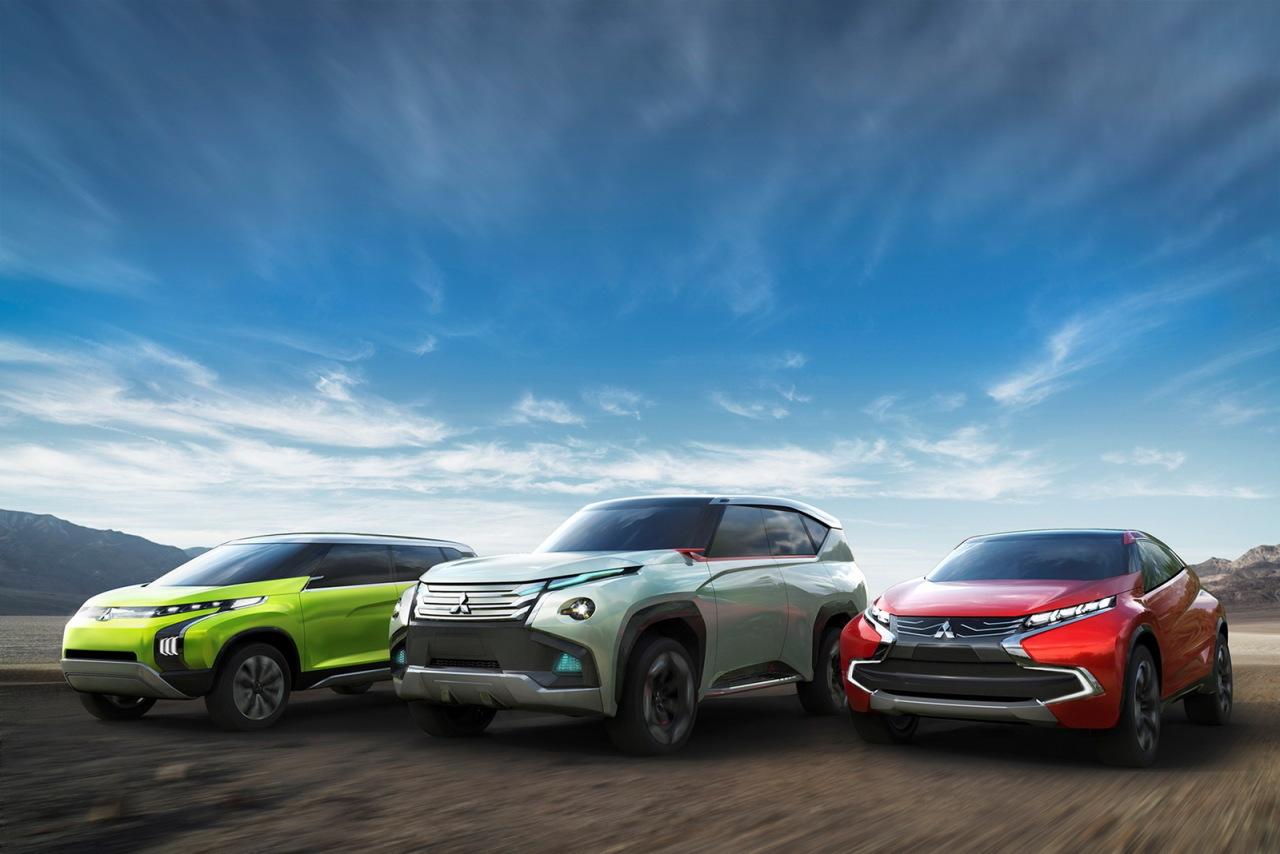 Salon Tokyo 2013 : trois concept-cars chez Mitsubishi