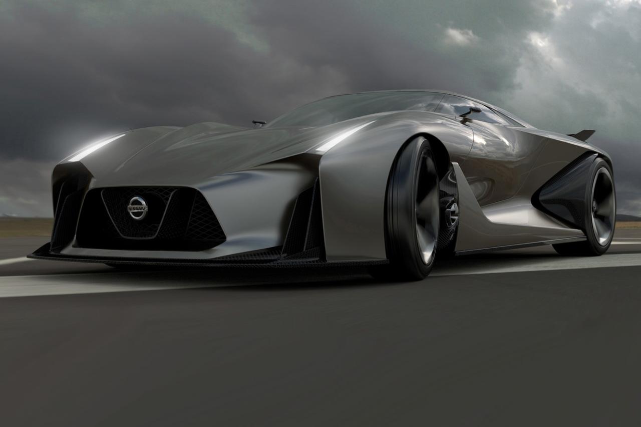 Nissan Concept 2020 Vision, le futur passe par la Playstation