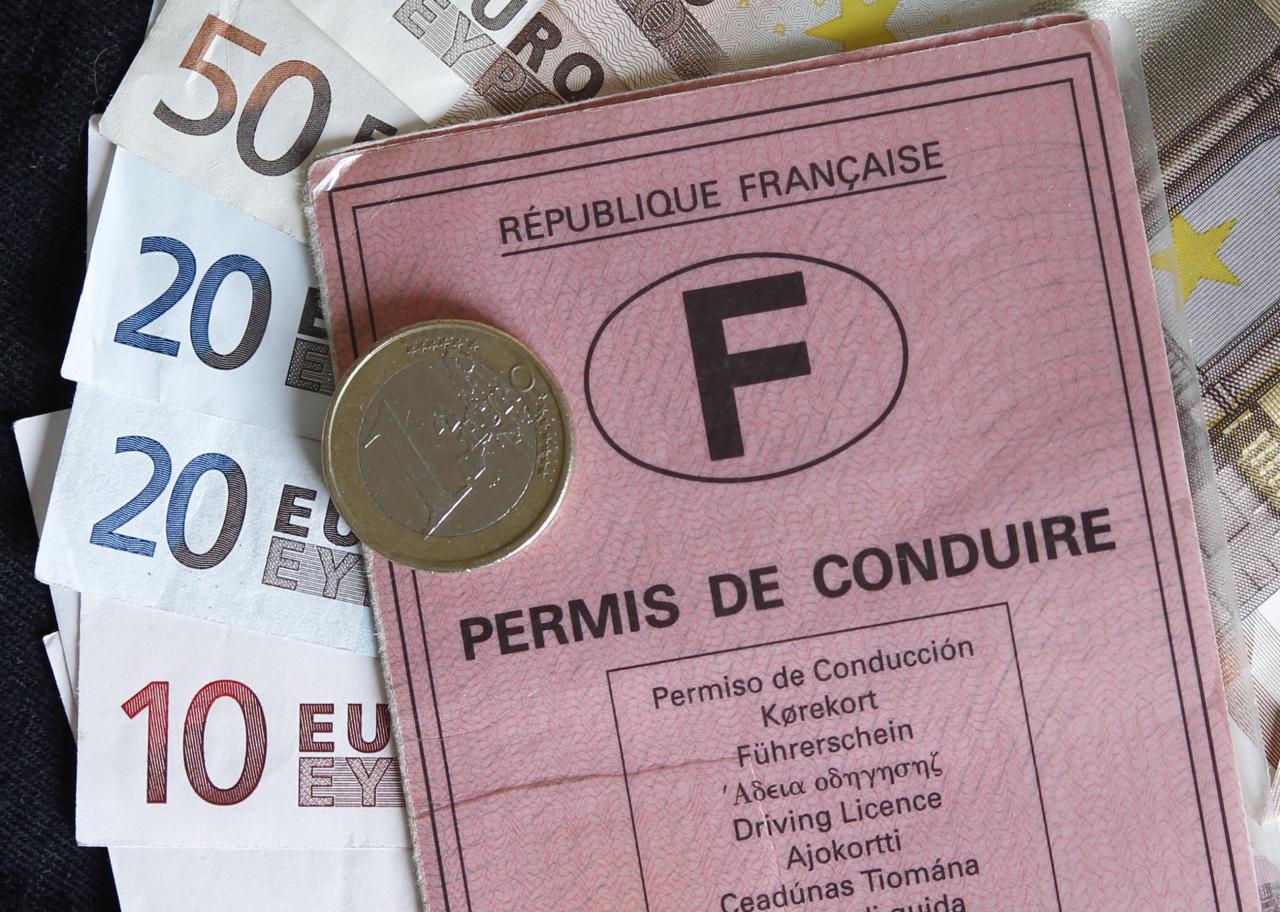 Trafic de points du permis de conduire