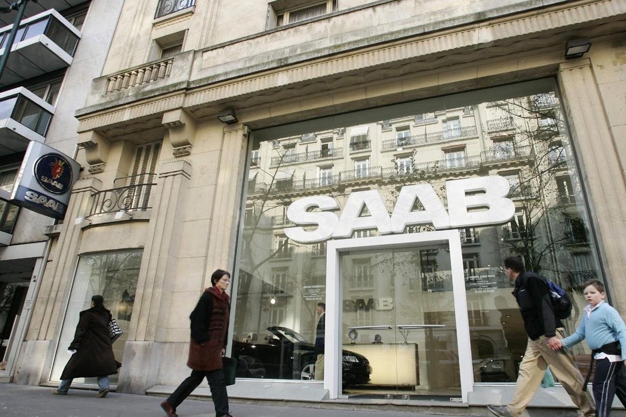 Saab se déclare en faillite