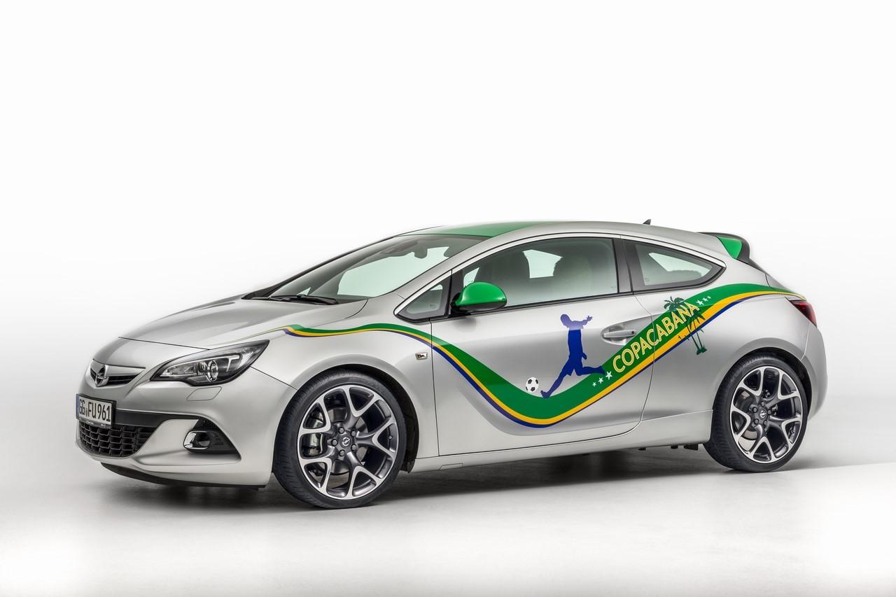 Série spéciale Opel Astra GTC Copacabana en vidéo
