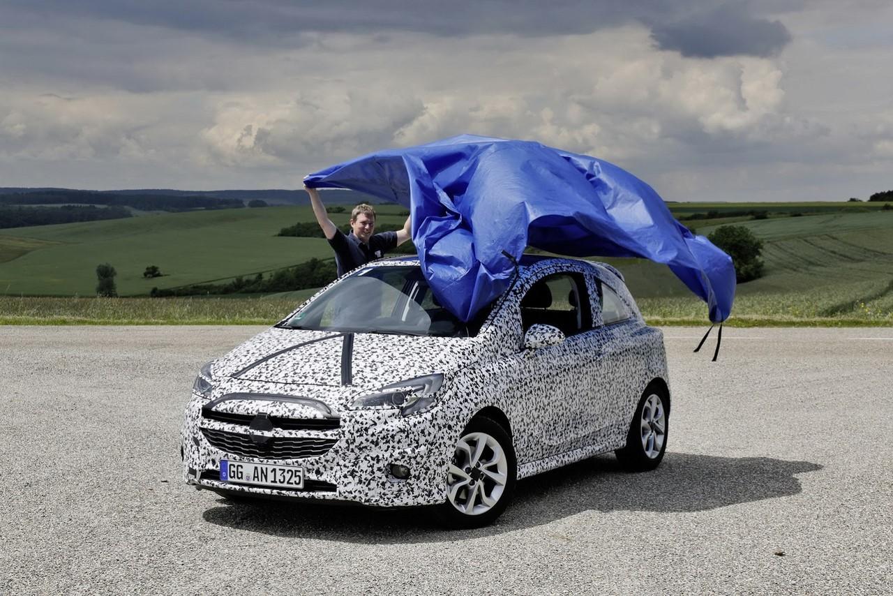 Opel lève un coin du voile sur sa nouvelle Corsa