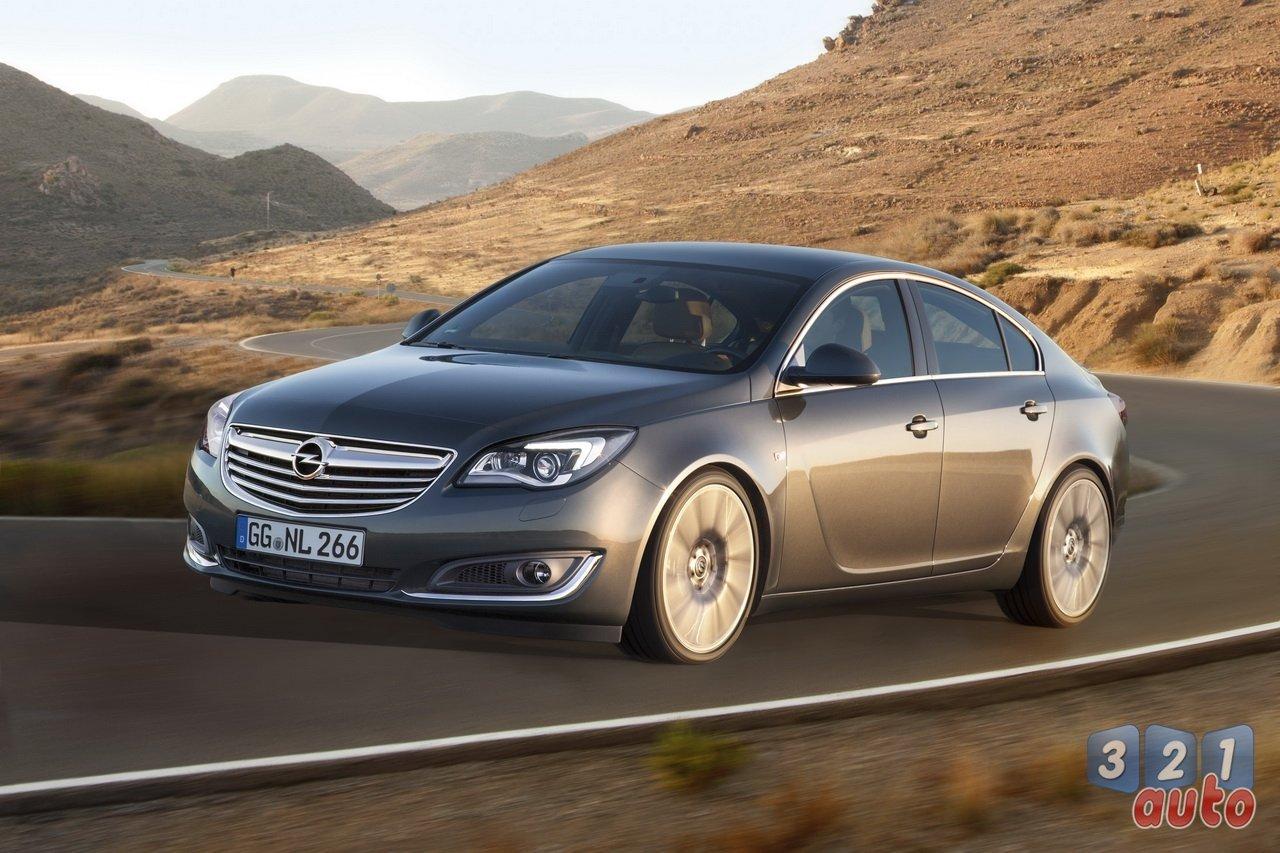 Opel Insignia 2013 : focus sur le nouveau système multimédia