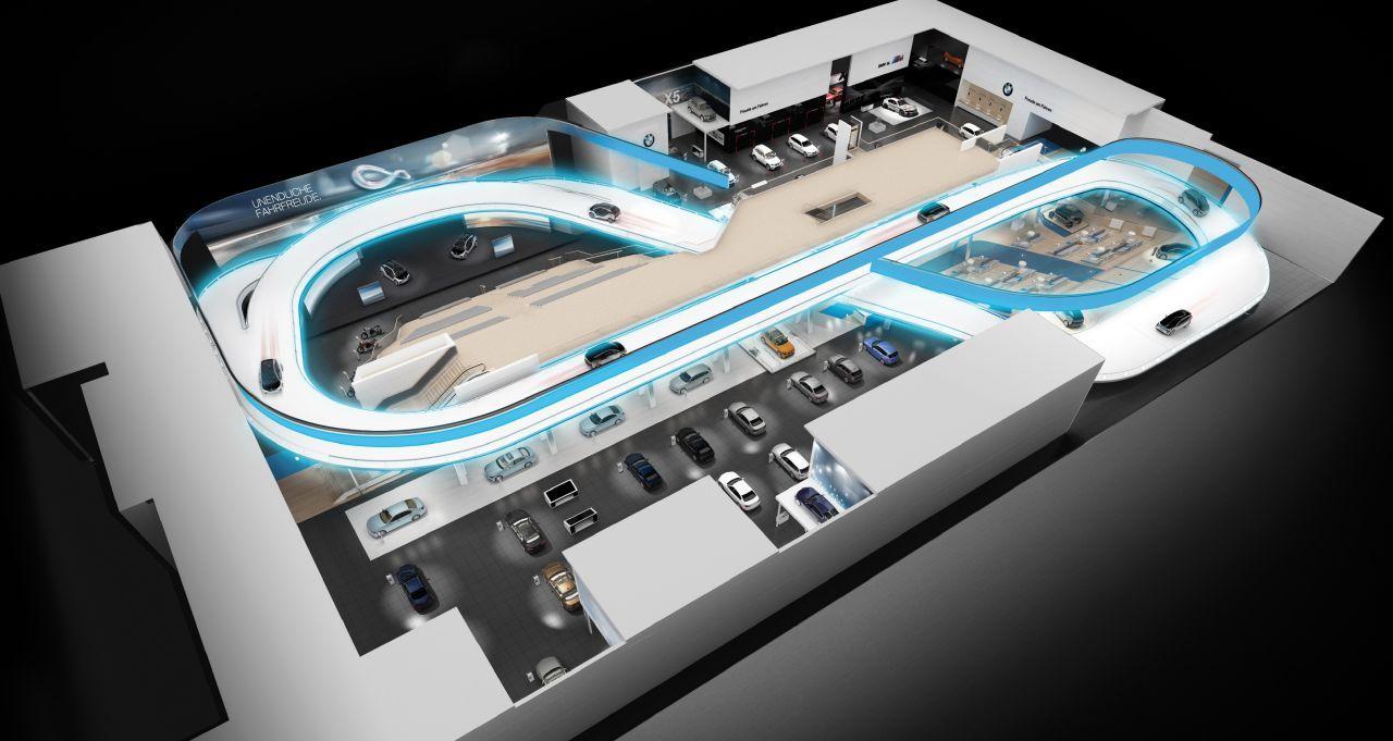Salon de Francfort 2013 : BMW dévoile son stand