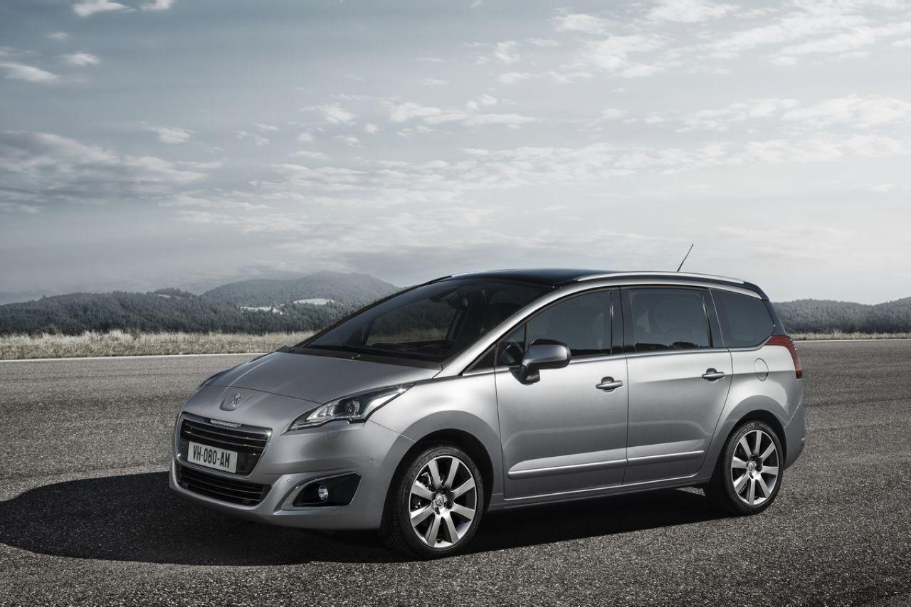 Salon Francfort 2013 : la Peugeot 5008 s'offre un nouveau look pour la rentrée
