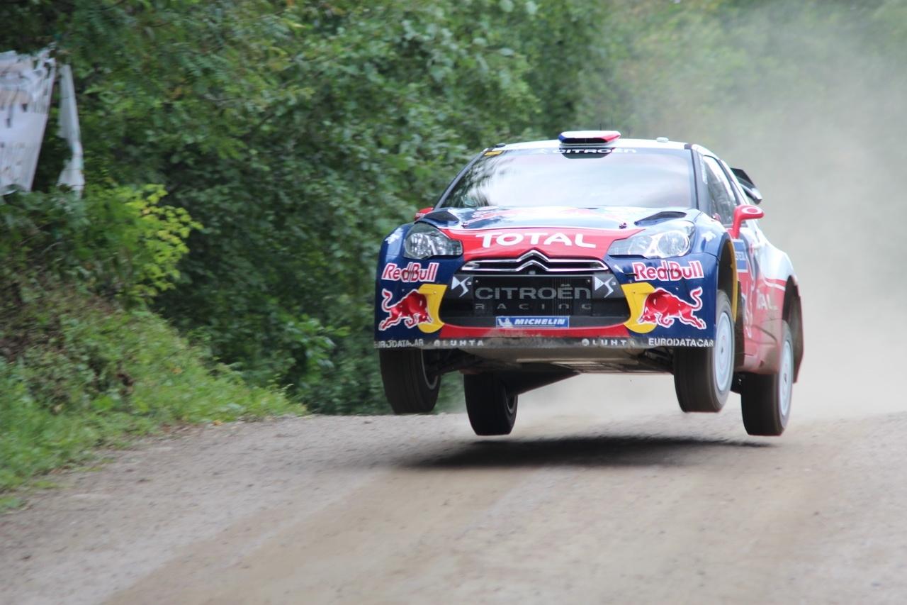 Avec Michelin dans le championnat du monde des rallyes