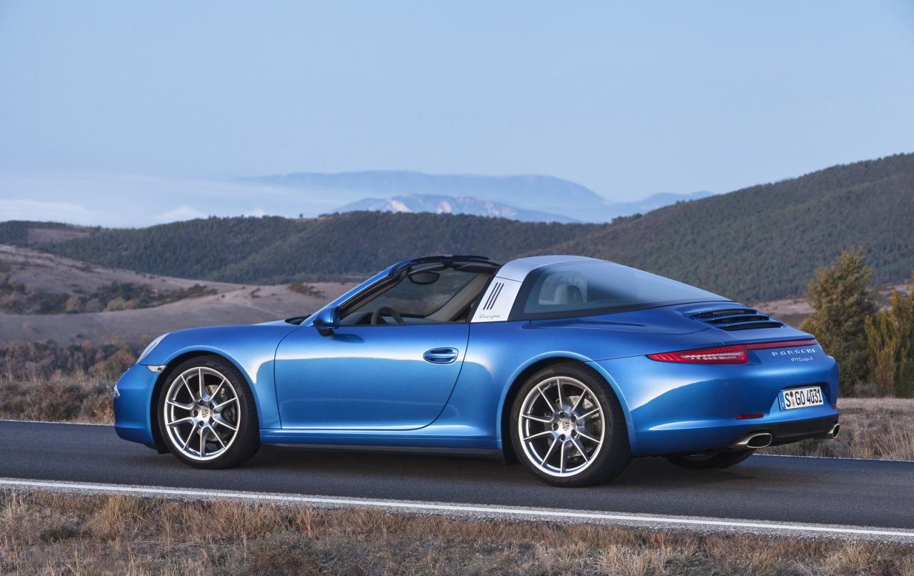 Porsche 911 Targa 2014 : retour aux sources