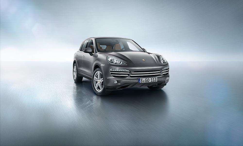 Une édition spéciale Platinum pour le Porsche Cayenne