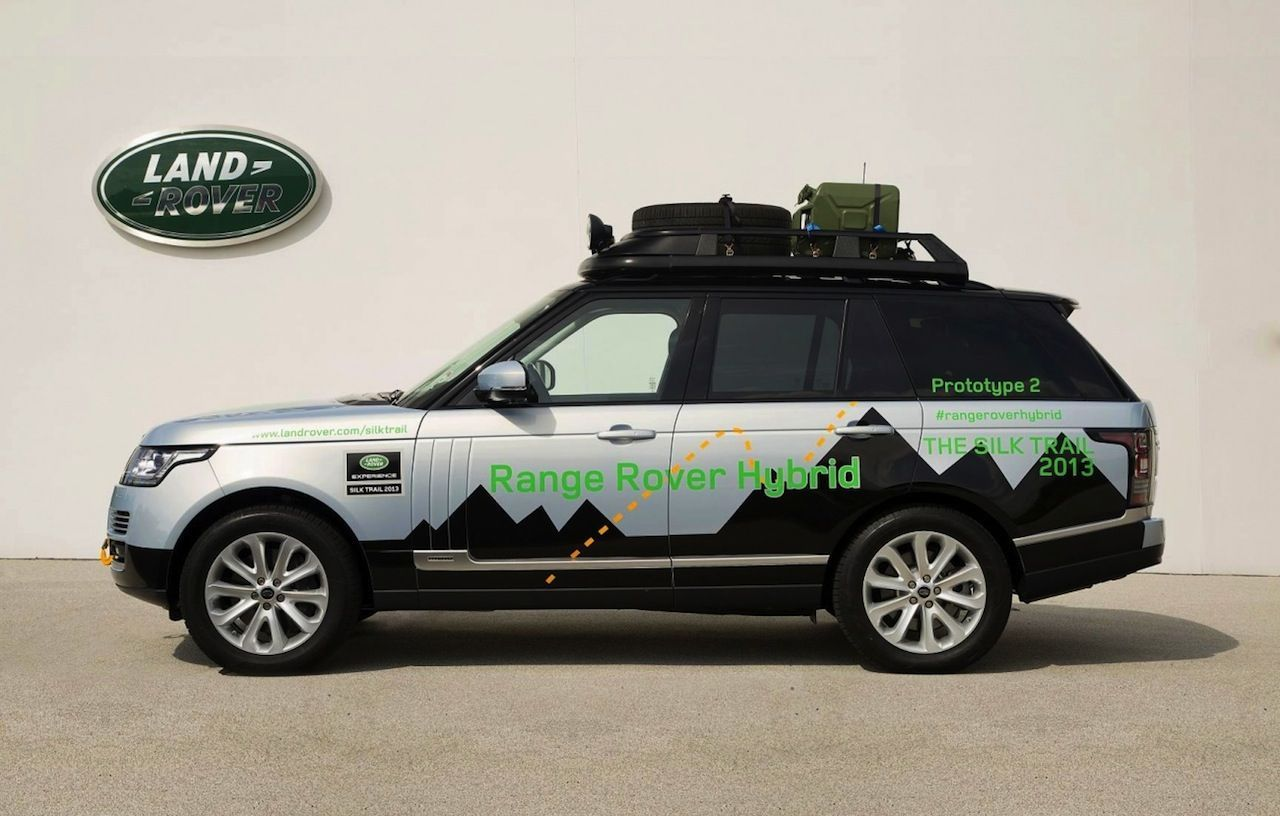 Salon Francfort 2013 : un Range Rover Hybride chez Land Rover