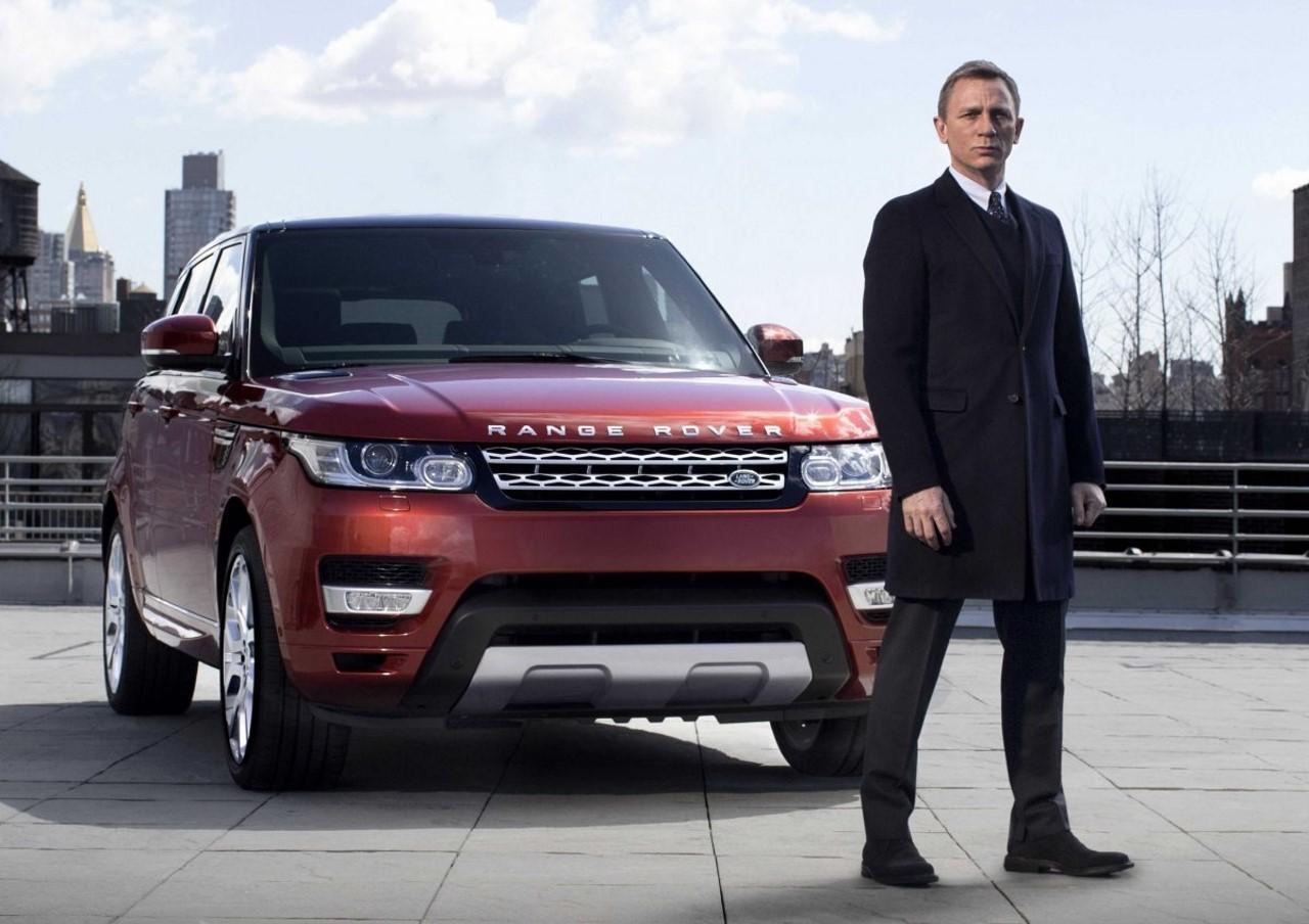 James Bond s'est fait voler ses Range Rover Sport