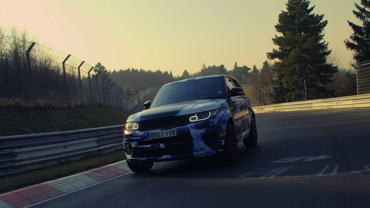 Un record sur le Nürburgring pour le Range Rover Sport SVR