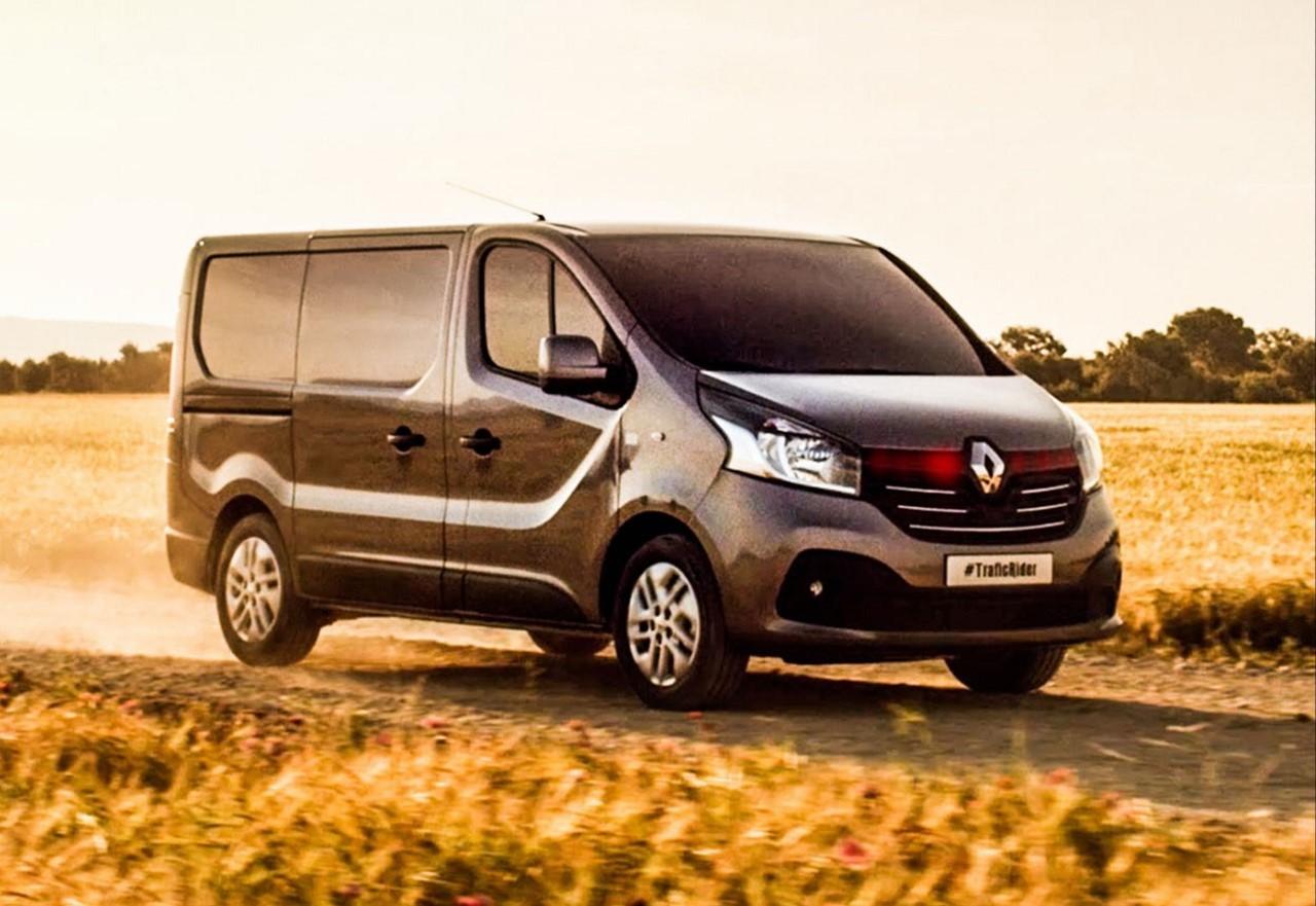 Vidéo : le nouveau Renault Trafic se prend pour K2000