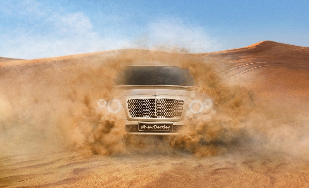 Un premier aperçu du SUV Bentley